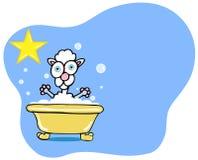 Étoile de Bath de crabot - carniche illustration de vecteur