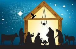 Étoile de Bethlehem Images libres de droits