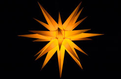 Étoile de Bethlehem photo stock