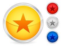 étoile de bouton illustration libre de droits
