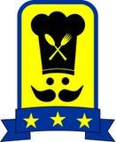 Étoile de cuisinier Photographie stock libre de droits
