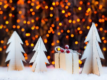 Étoile de décoration de Noël photo stock