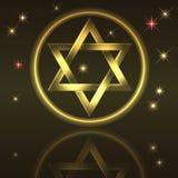 Étoile de David. illustration libre de droits