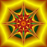 Étoile de fleur illustration stock
