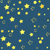étoile de fond Photo stock