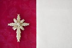Étoile de fond de Noël Photographie stock libre de droits