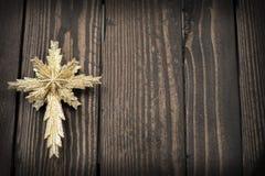 Étoile de fond de Noël Images libres de droits