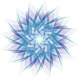 Étoile de fractale Images libres de droits