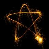 Étoile de Freezelight Image stock