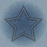 Étoile de jeans Photos libres de droits