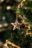 Étoile de Joyeux Noël et de bonne année photo libre de droits