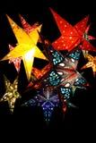 étoile de lanternes Photo stock