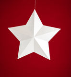 Étoile de livre blanc Photographie stock