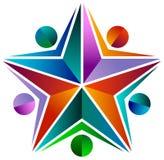 Étoile de personnes Image stock