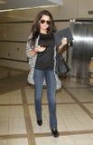 Étoile de réalité Khloe Kardashian chez LAX photo stock