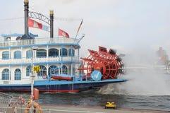 Étoile de Riversboat Louisiane Photo stock