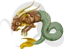 étoile de signe de mer de chèvre de Capricorne illustration de vecteur