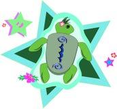 Étoile de tortue de mer illustration de vecteur