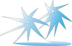 Étoile de vecteur d'illustration Image libre de droits