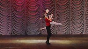 Étoile du ballet de Moscou banque de vidéos