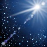 Étoile filante Photographie stock