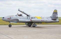Étoile filante de Lockheed T-33 Photos libres de droits