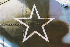 Étoile, le symbole de l'Armée de l'Air russe Image stock