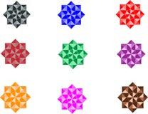 Étoile Logo Pattern Collection abstrait, vecteur Logo Design photo libre de droits