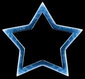 étoile métallique Photographie stock libre de droits