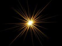 étoile noire de fond Photos stock