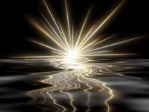 étoile noire de fond Image libre de droits