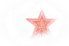 Étoile pour Noël Photos libres de droits
