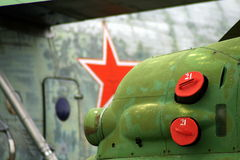 Étoile rouge Photographie stock libre de droits