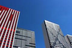 Étoile rouge complexe résidentielle images libres de droits