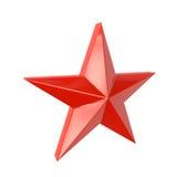 Étoile rouge Photos libres de droits