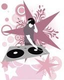 Étoile superbe du DJ Photos libres de droits