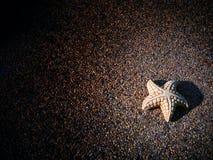 Étoile sur l'étape Images libres de droits