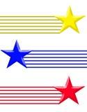 Étoile trois Image libre de droits