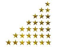 étoiles 3d Photos libres de droits