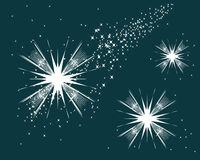 Étoiles Illustration de Vecteur