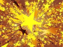 Étoiles illustration libre de droits