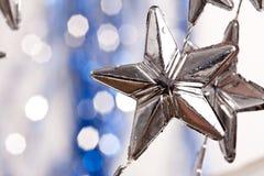 Étoiles argentées Images stock