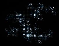 Étoiles argentées Image libre de droits