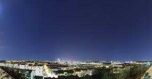 Étoiles au-dessus de Goteburgam, Suède Images libres de droits