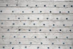 Étoiles bleues Image libre de droits