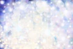 Étoiles bleues multiples images stock