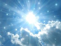 Ciel Bleu Et Rayon De Soleil Image stock - Image du sunset ...