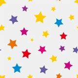 Étoiles colorées Images stock