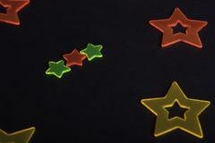 Étoiles colorées Photo libre de droits