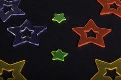 Étoiles colorées Photographie stock